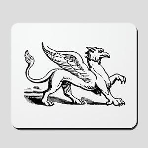 Griffin Illustration Mousepad