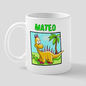 Mateo Dinosaur Mug