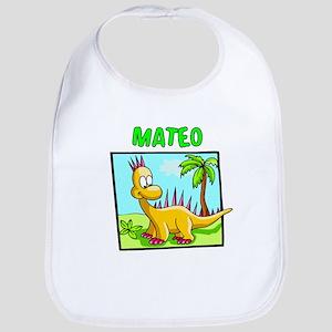 Mateo Dinosaur Bib