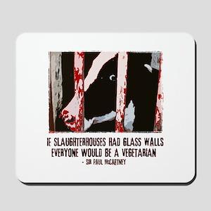 Slaughterhouse Cow Mousepad