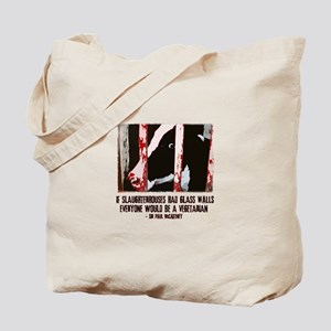 Slaughterhouse Cow Tote Bag