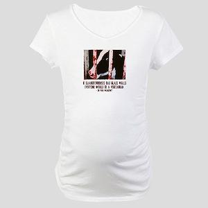 Slaughterhouse Cow Maternity T-Shirt