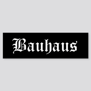 Bauhaus Bumper Sticker