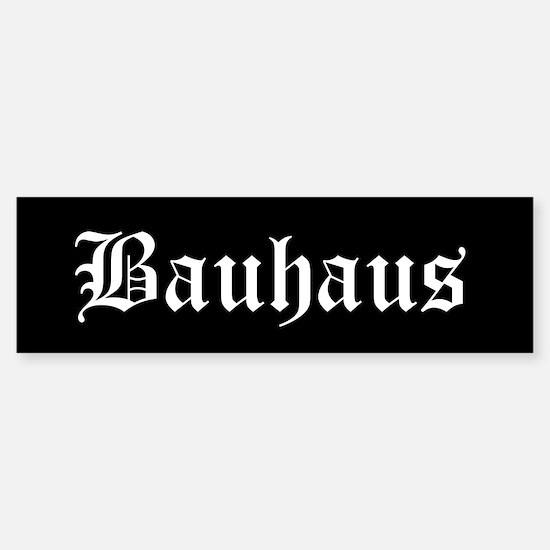 Bauhaus Bumper Bumper Bumper Sticker