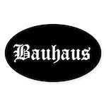 Bauhaus Oval Sticker (50 pk)