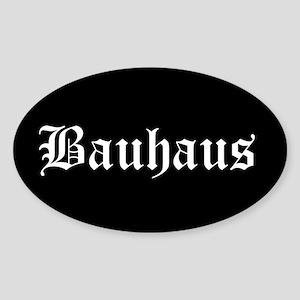 Bauhaus Oval Sticker