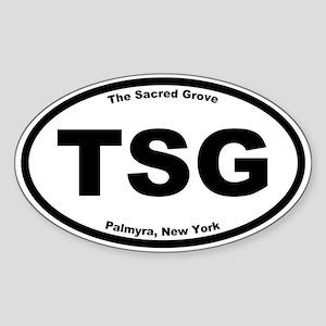 The Sacred Grove Oval Sticker