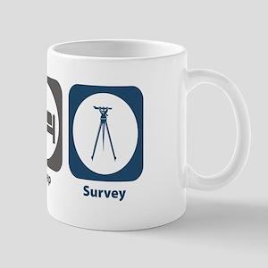 Eat Sleep Survey Mug