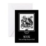 Scox Greeting Cards (Pk of 10)