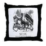 Scox Throw Pillow