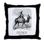 Paymon Throw Pillow