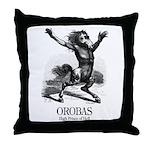 Orobas Throw Pillow