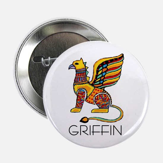 Colorful Griffin Button