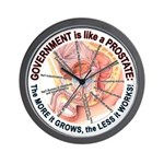 Government Prostate Wall Clock