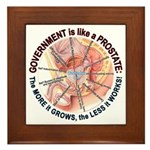 Government Prostate Framed Tile