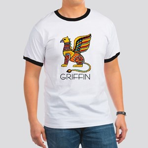 Colorful Griffin Ringer T