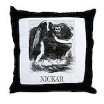 Nickar Throw Pillow