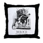 Moloch Throw Pillow