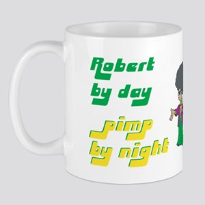 Robert - Pimp By Night Mug