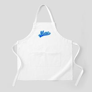 Retro Mac (Blue) BBQ Apron