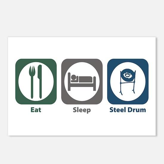 Eat Sleep Steel Drum Postcards (Package of 8)