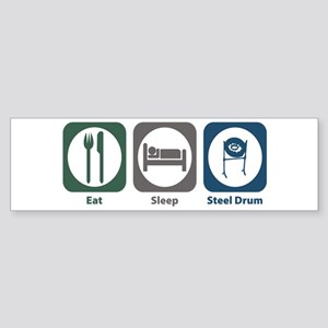 Eat Sleep Steel Drum Bumper Sticker