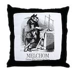 Melchom Throw Pillow