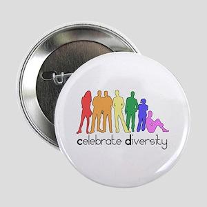 Celebrate Diversity (people) Button