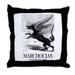 Marchocias Throw Pillow