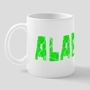 Alabama Faded (Green) Mug