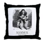 Mammon Throw Pillow