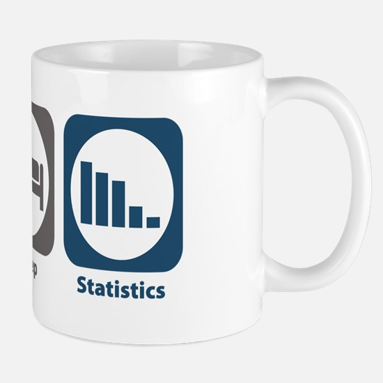 Eat Sleep Statistics Mug