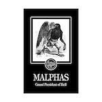 Malphas Mini Poster Print