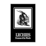 Lechies Mini Poster Print