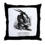 Lechies Throw Pillow