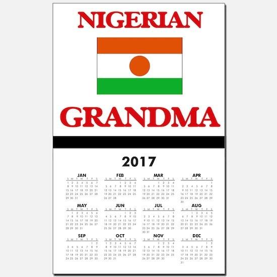 Nigerian Grandma Calendar Print