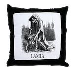 Lamia Throw Pillow