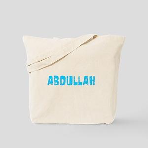 Abdullah Faded (Blue) Tote Bag