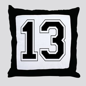 13 Throw Pillow