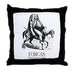 Forcas Throw Pillow