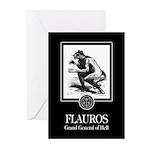 Flauros Greeting Cards (Pk of 10)