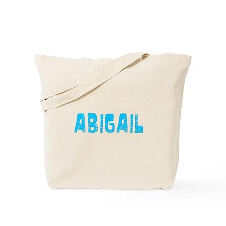 Abigail Faded (Blue) Tote Bag