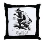 Flauros Throw Pillow