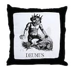 Deumus Throw Pillow
