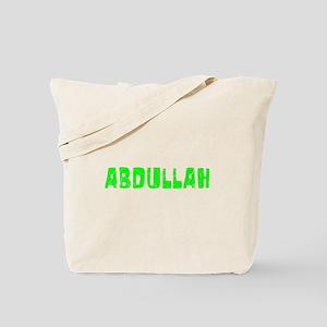 Abdullah Faded (Green) Tote Bag