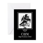 Caym Greeting Cards (Pk of 10)
