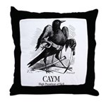 Caym Throw Pillow