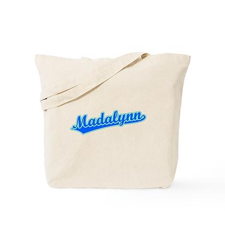 Retro Madalynn (Blue) Tote Bag