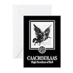 Caacrinolaas Greeting Cards (Pk of 10)