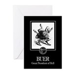 Buer Greeting Cards (Pk of 10)